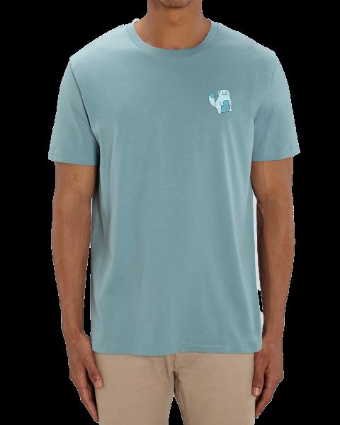 "Biomutant T-Shirt ""Vending Machine"" Blue"