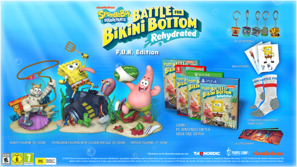 Spongebob Squarepants: Battle for Bikini Bottom - Rehydrated F.U.N. Edition