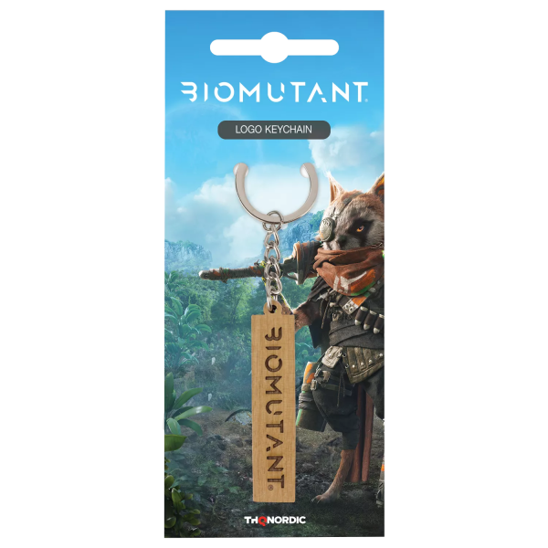 "Biomutant Keychain ""Logo"""