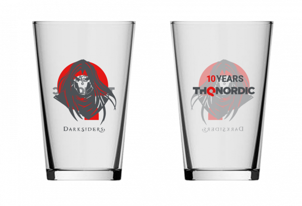 """Darksiders Glass """"10 years THQ Nordic"""""""