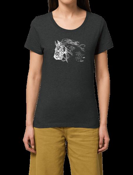 "Darksiders Girlie T-Shirt ""Ruin Sketch"""