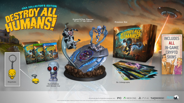 Destroy all Humans! DNA Colllector's Edition