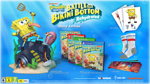 Spongebob Schwammkopf: Schlacht um Bikini Bottom - Rehydrated Shiny Edition