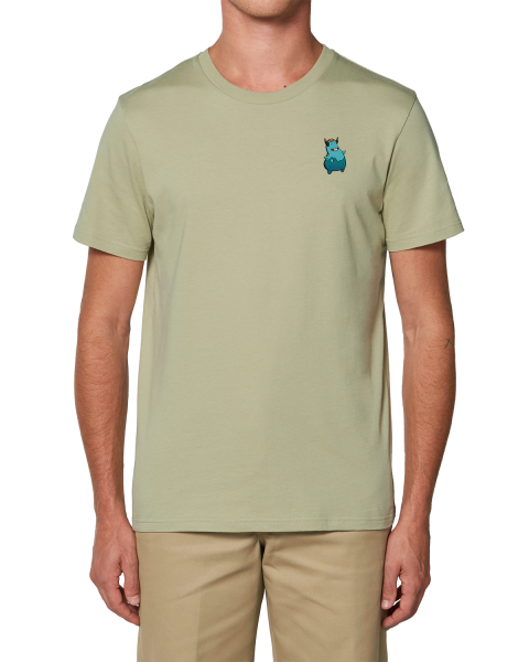 "Biomutant T-Shirt ""Vending Machine"" Sage"