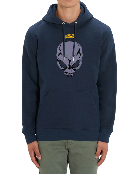 """Destroy all Humans Hoodie """"Crypto Face"""""""